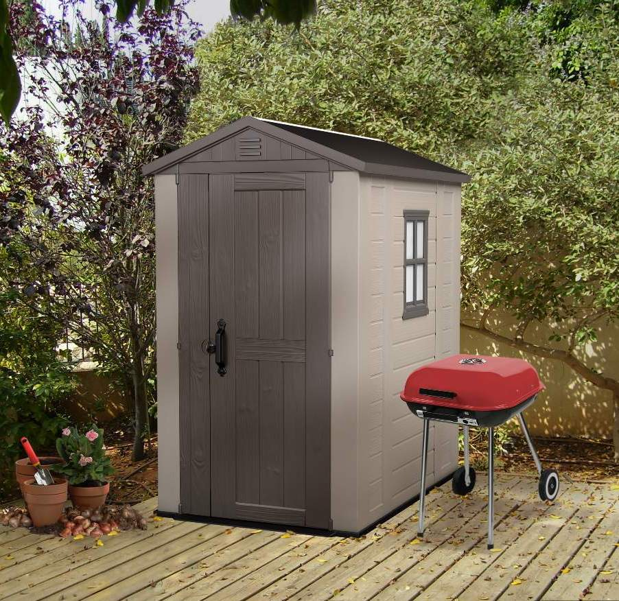 Plastic Shed For Narrow Spaces New From Keter Sydney