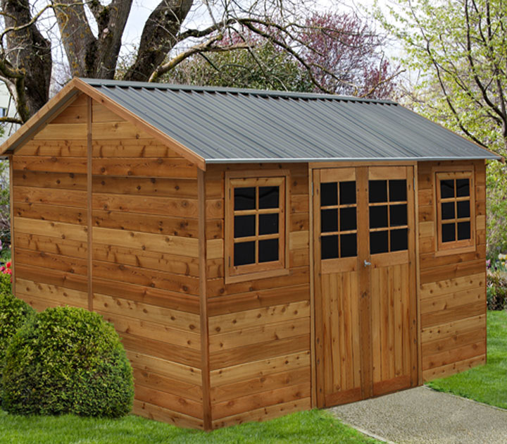 new timber garden shed is a winner sydney garden products - Garden Sheds Vic