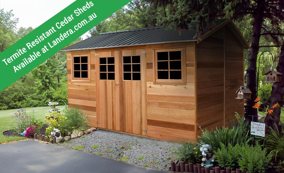 cedar-shed-termite-resistant