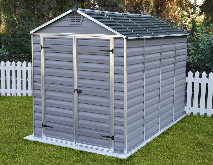 Palram skylight 6 x 10 garden shed 1347 sydney garden for Greenhouse skylights