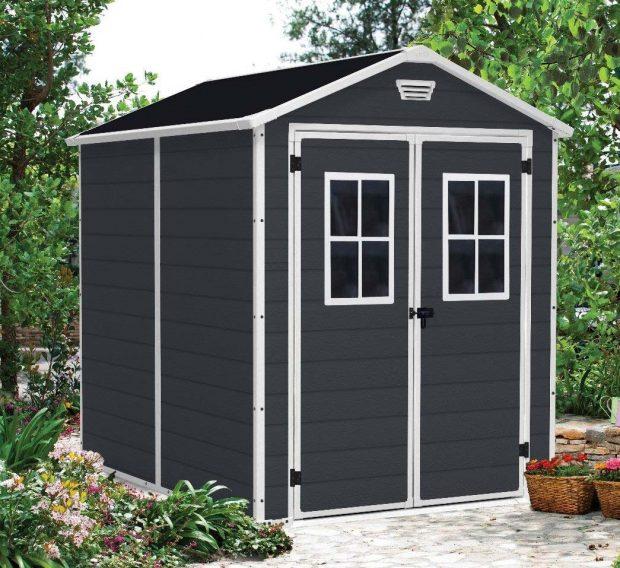 keter manor 6x8 garden shed 1279 sydney garden products. Black Bedroom Furniture Sets. Home Design Ideas
