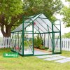 GREENLINE 8′ X 8′ GREENHOUSE