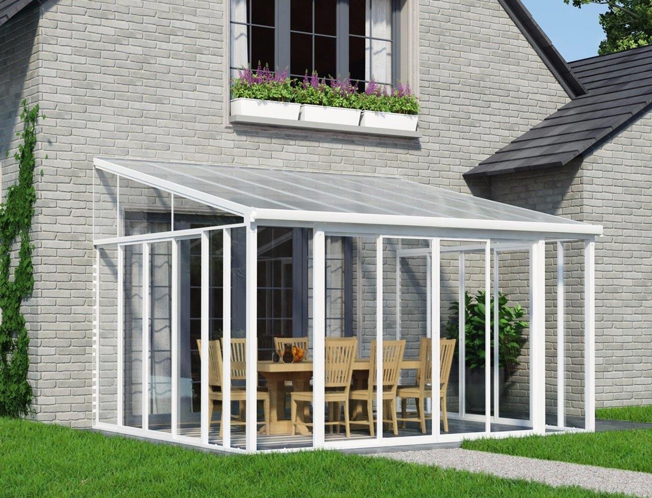 Sanremo 4m sunroom 8749 sydney garden products for Sunroom extensions sydney