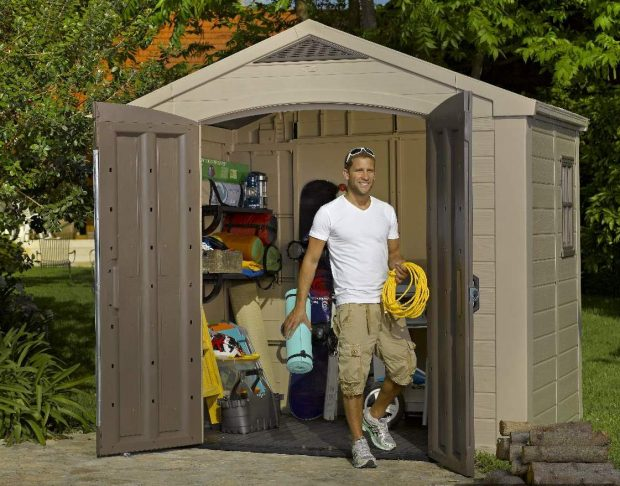 KETER FACTOR 8 x 6 SHED