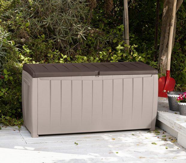 Keter Novel Beige Storage Box 179 Sydney Garden Products