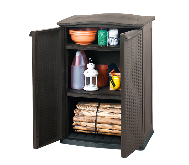 KETER RATTAN STYLE MINI CABINET $ Sydney Garden Products
