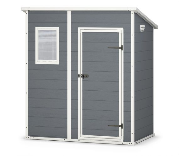 keter manor pent 6 x 4 garden shed 689 sydney garden products - Garden Sheds 6x4
