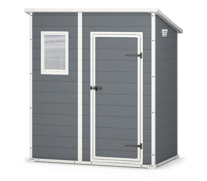keter manor pent 6 x 4 garden shed 689 sydney garden products - Garden Sheds 6x4
