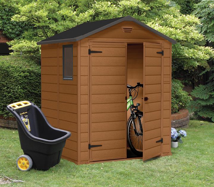 keter manor 6 x 5 garden shed 869 sydney garden products. Black Bedroom Furniture Sets. Home Design Ideas