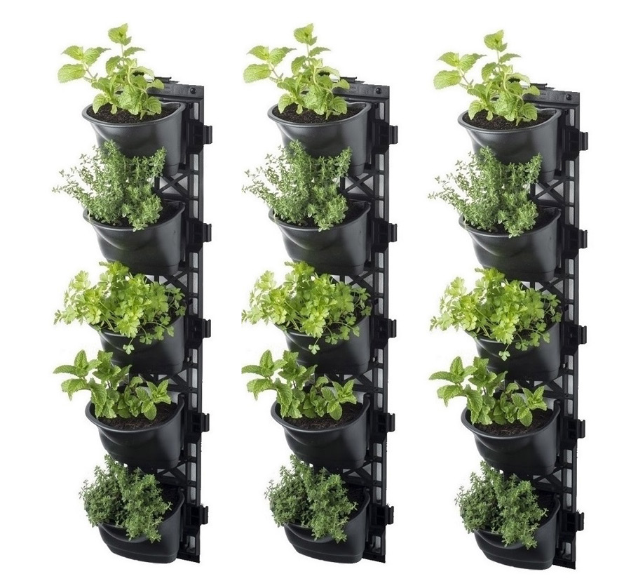 vertical garden kit 3 set sydney garden products. Black Bedroom Furniture Sets. Home Design Ideas